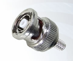 BNC Reverse Polarity Crimp Plugs
