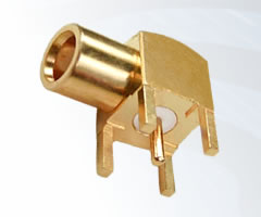 MCX 75 ohm Right Angle PCB Jacks
