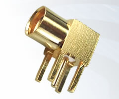 MMCX Right Angle PCB Jacks