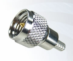 Mini UHF Crimp Plugs