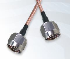 N Type Plug to N Type Plug Cable Assemblies
